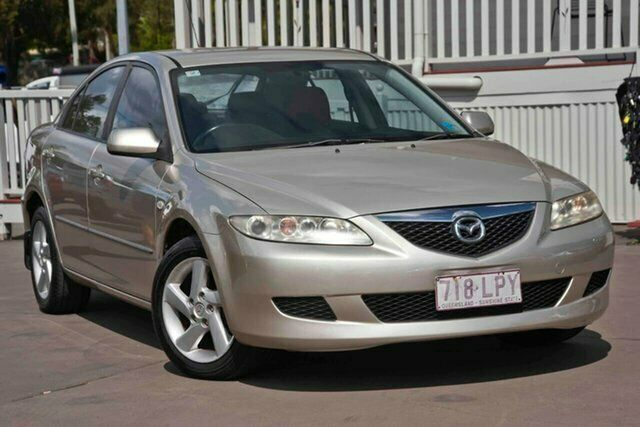 2004 Mazda 6 GG1031 MY04 Limited Gold 5 Speed Manual Sedan | Cars ...