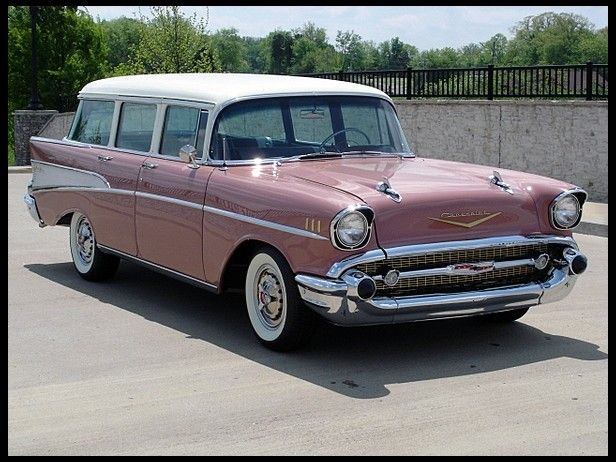 1957 Chevrolet 210 Wagon 283 CI, Automatic presented as lot F184 ...