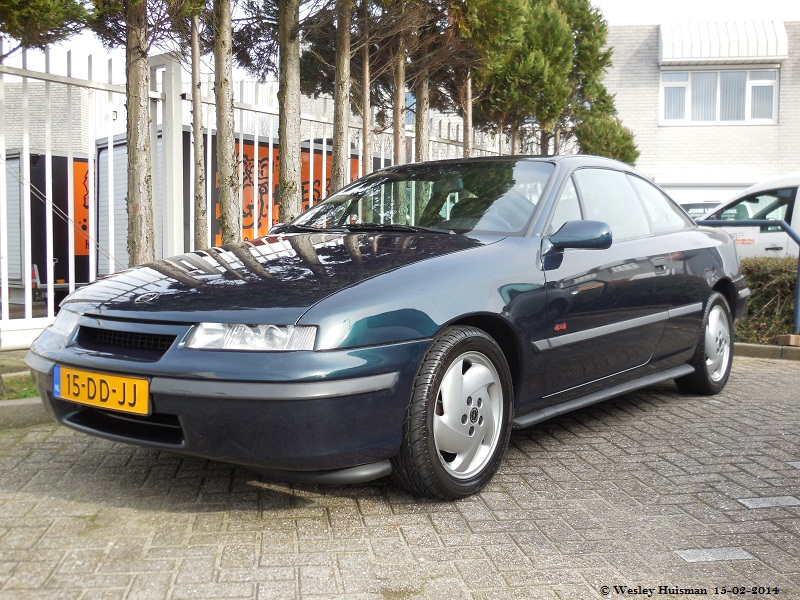 Opel Calibra Turbo 4x4 1993 (15-DD-JJ) | Wesley Huisman | Flickr