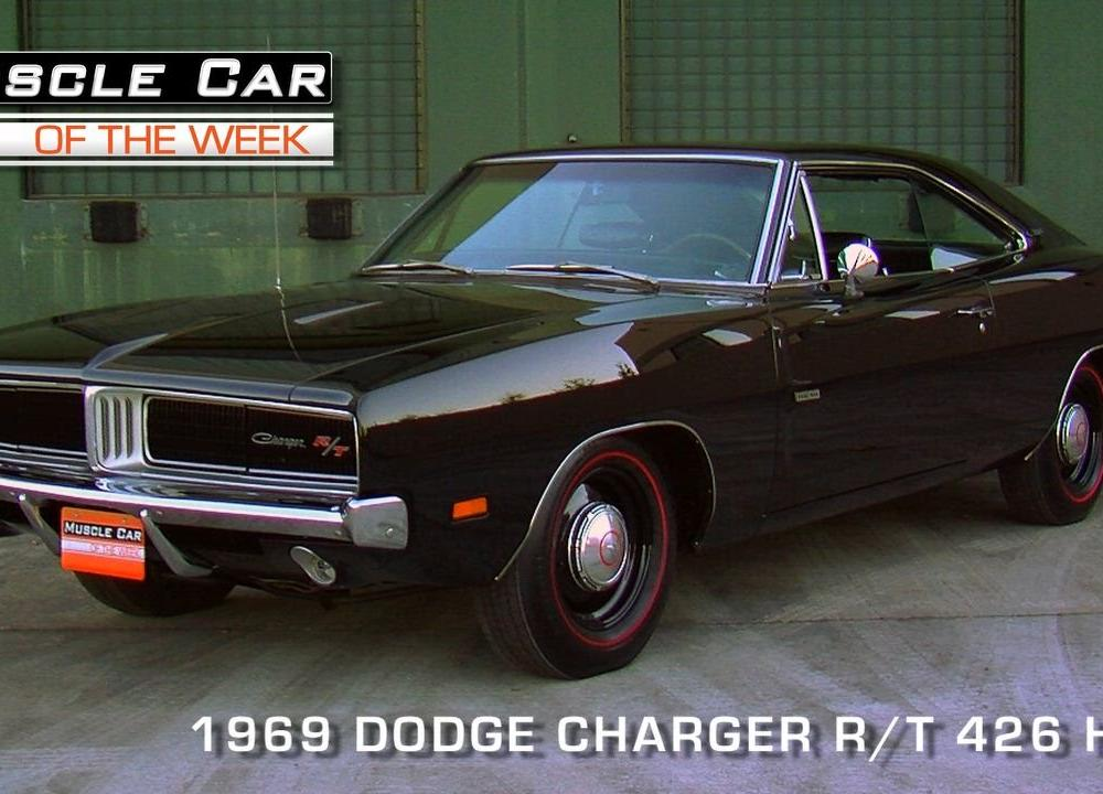 1969 Dodge Charger R/T 426 Hemi Video Muscle Car Of The Week ...