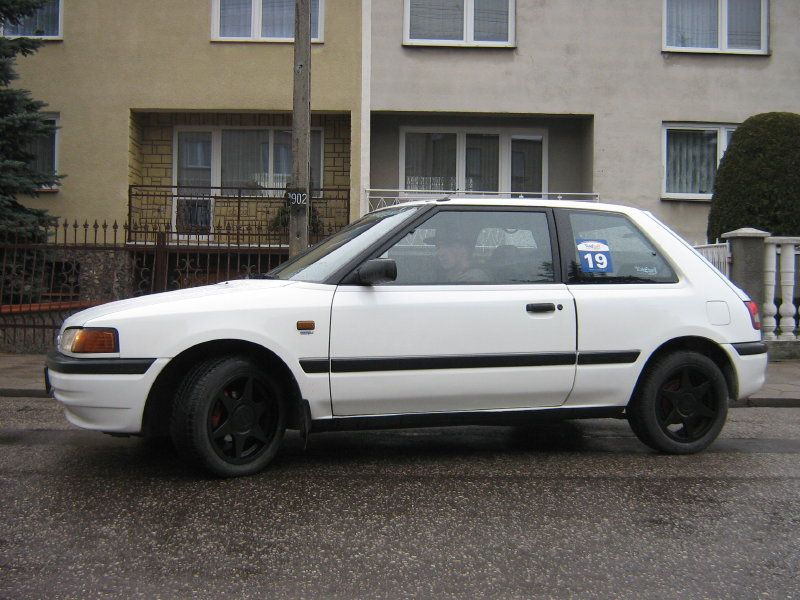 mazda 323 1.3 16v | Super images, Mazda, Mazda cars