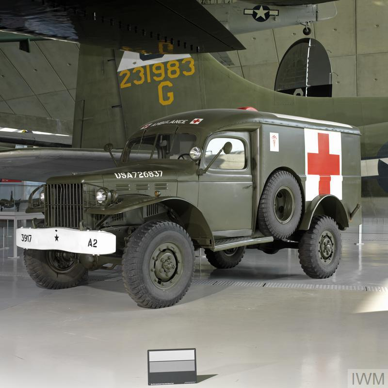 Dodge WC54 Ambulance | Imperial War Museums