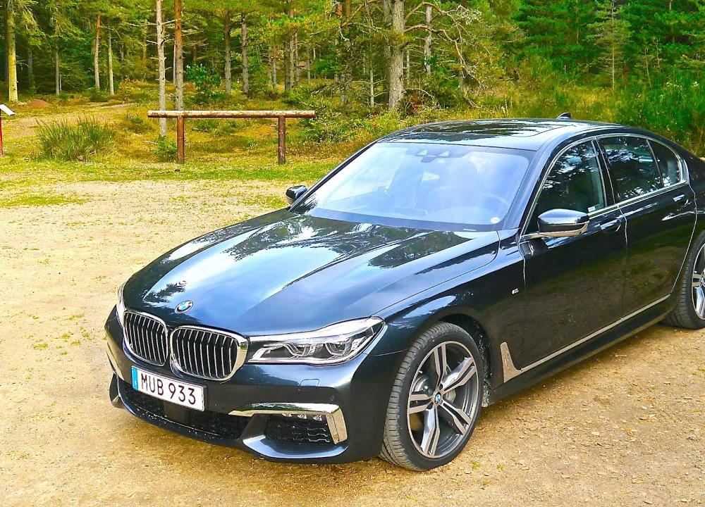 2016 BMW 730d xDrive, first drive - YouTube