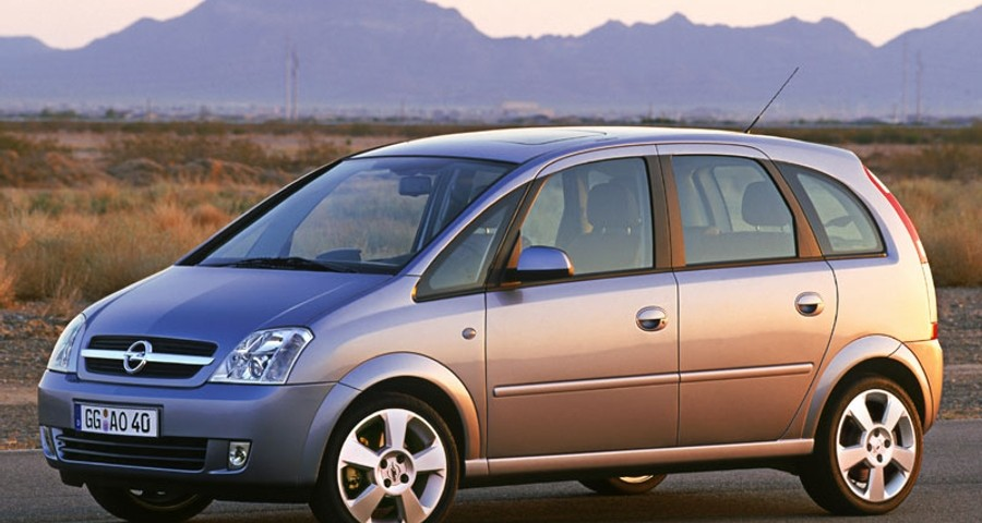 Opel Meriva Minivan / MPV 2003 - 2005 reviews, technical data, prices