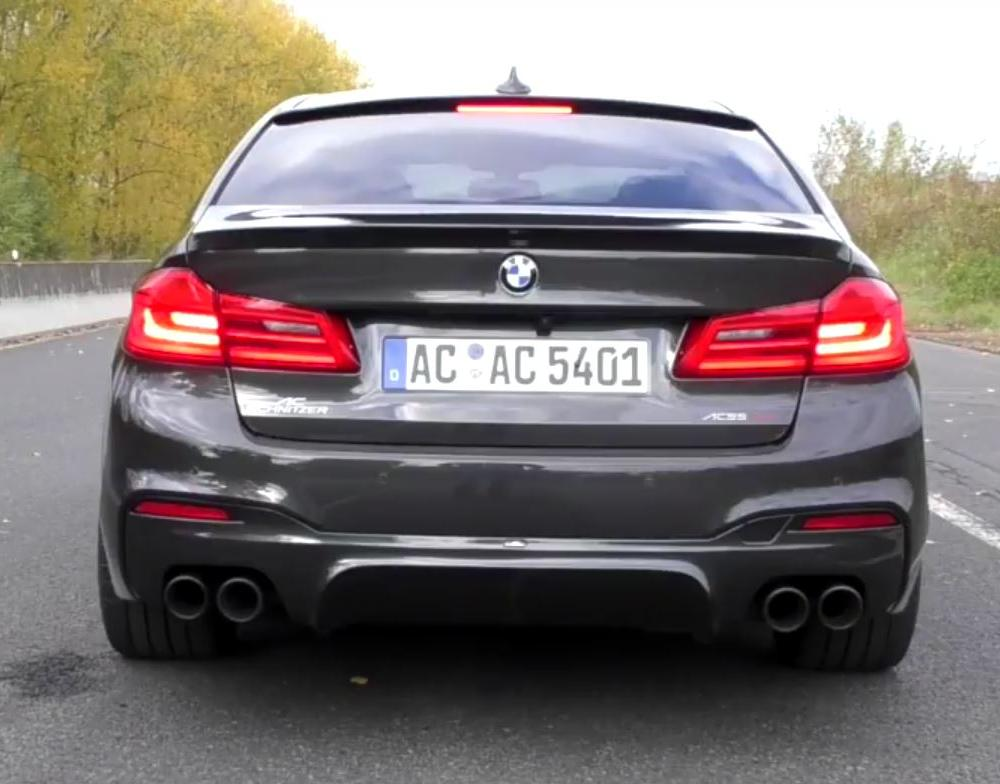 Video: AC Schnitzer Rear Muffler for BMW 540i Is a Worthy Upgrade