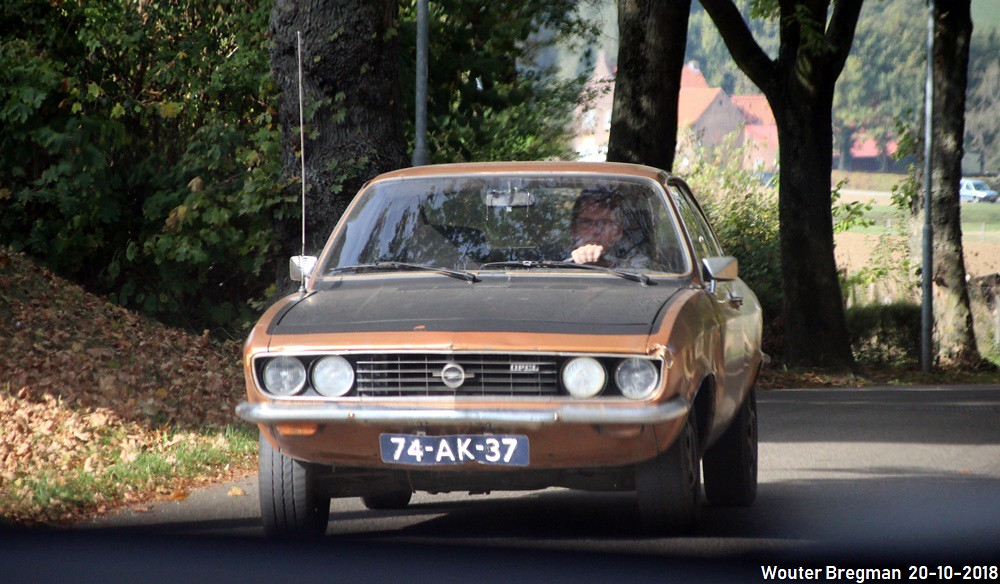 Opel Manta automatic 1973 | Hunnecum, Netherlands. | Flickr