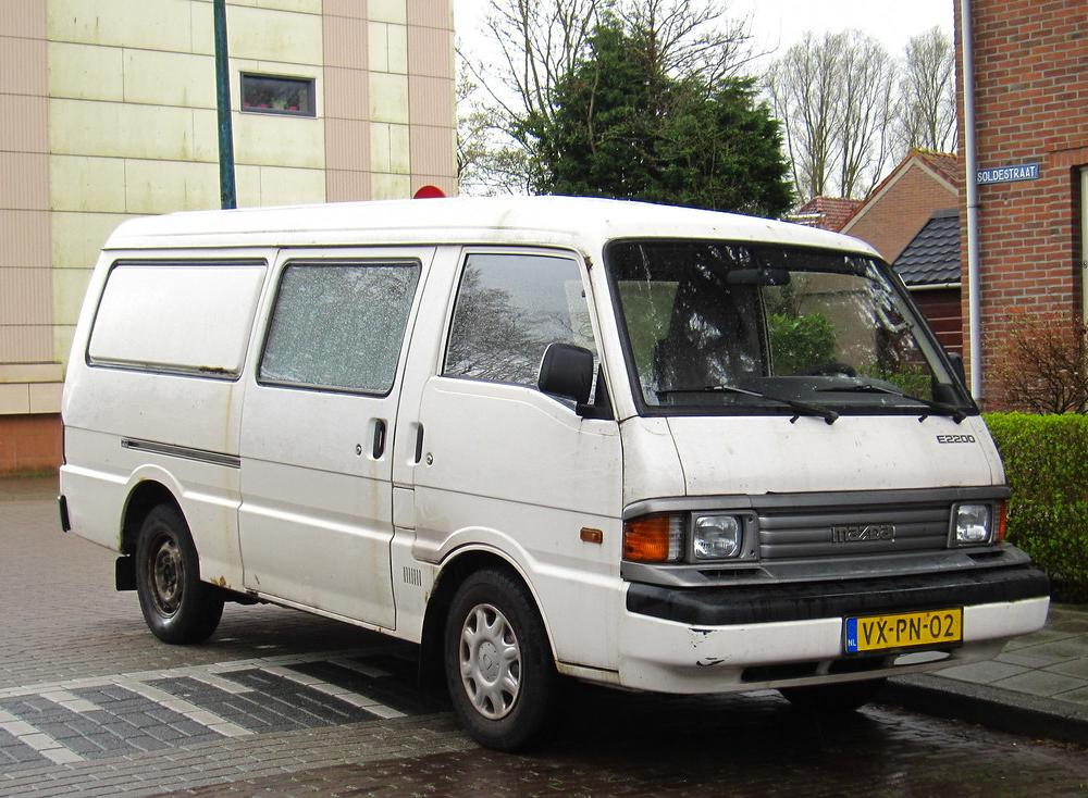 1998 Mazda E2200 Diesel | Place: Gouda With its current owne… | Flickr