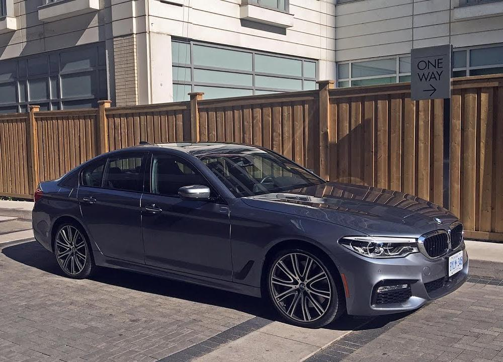 2017 BMW 540i xDrive (G30) - Review - YouTube