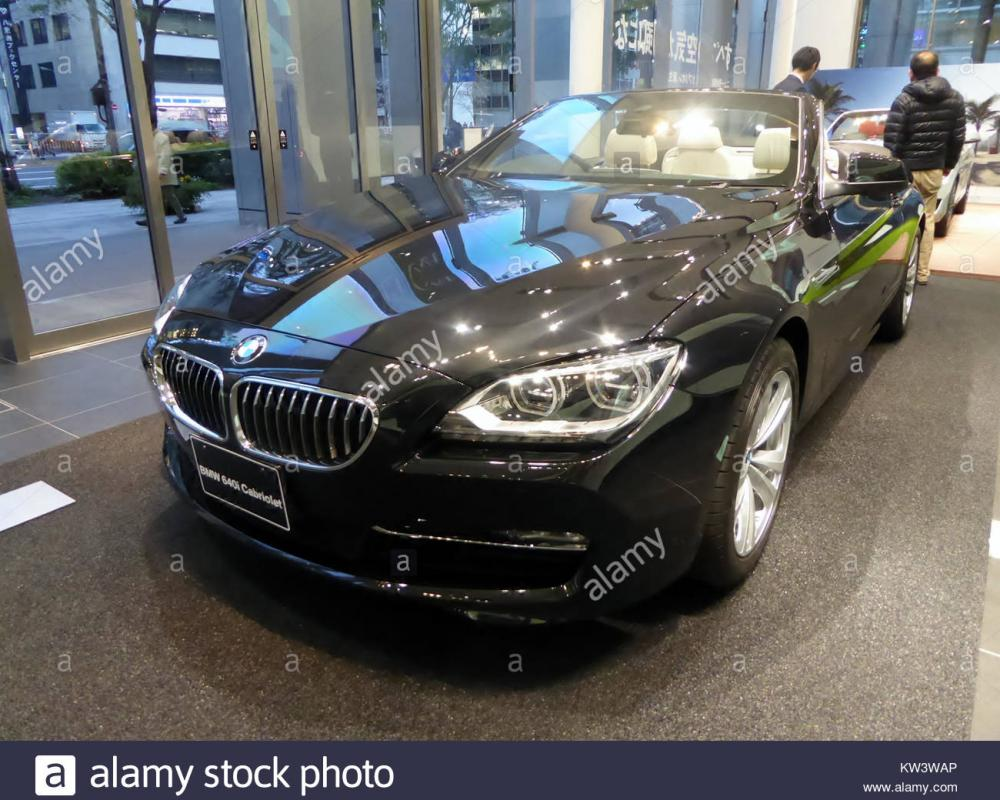 BMW 640i Cabriolet (F12) front Stock Photo: 170345470 - Alamy