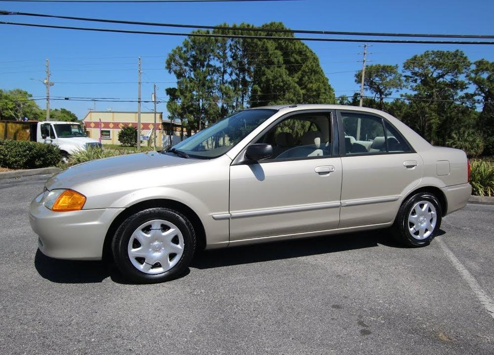 SOLD 2000 Mazda Protege LX 81K Miles One Owner Meticulous Motors ...