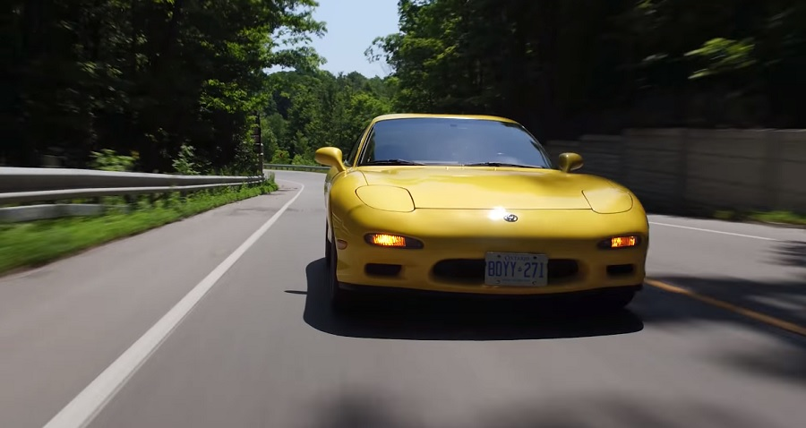 Mazda RX-7, the best selling rotary engine car ever