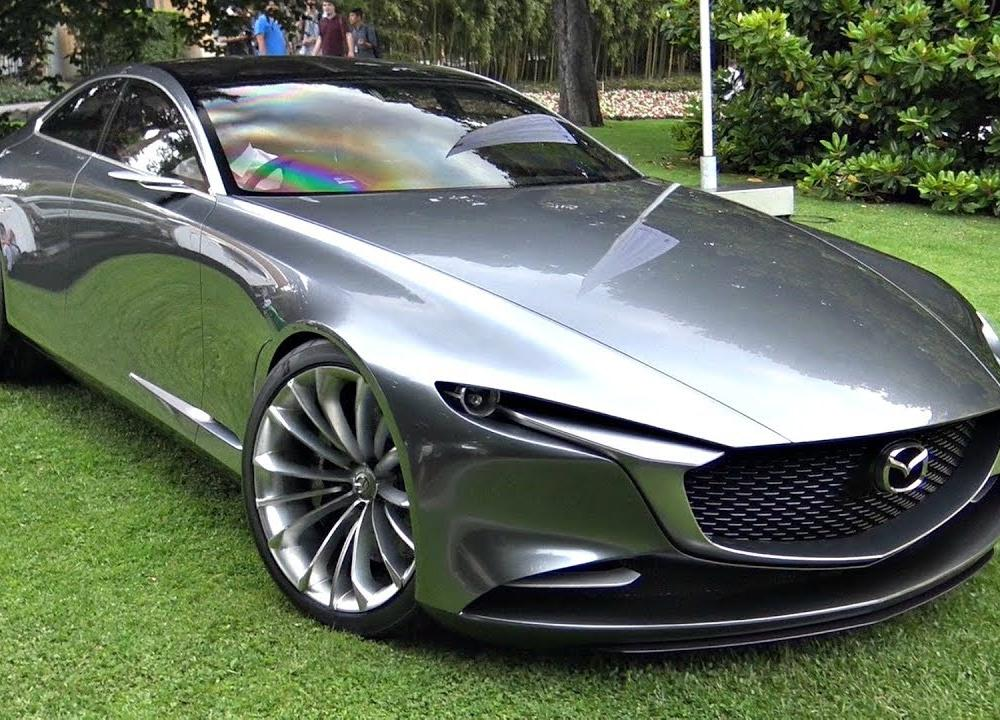 Mazda Vision Coupé Concept Start Up Sound, Moving & Loading Into a ...
