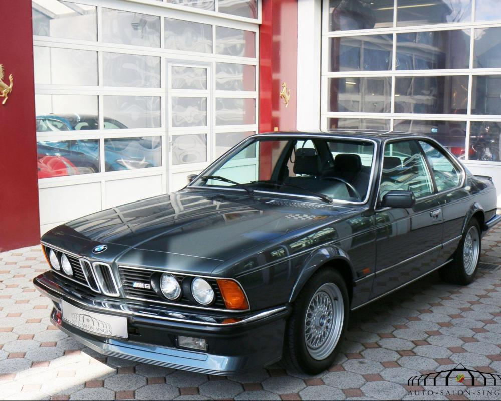 BMW M 635 CSi Coupé - Auto Salon Singen