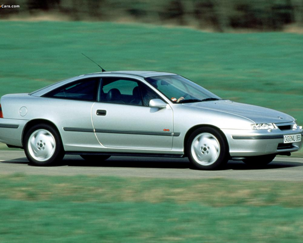 Opel Calibra Turbo 4x4 1992–97 photos (1280x960)