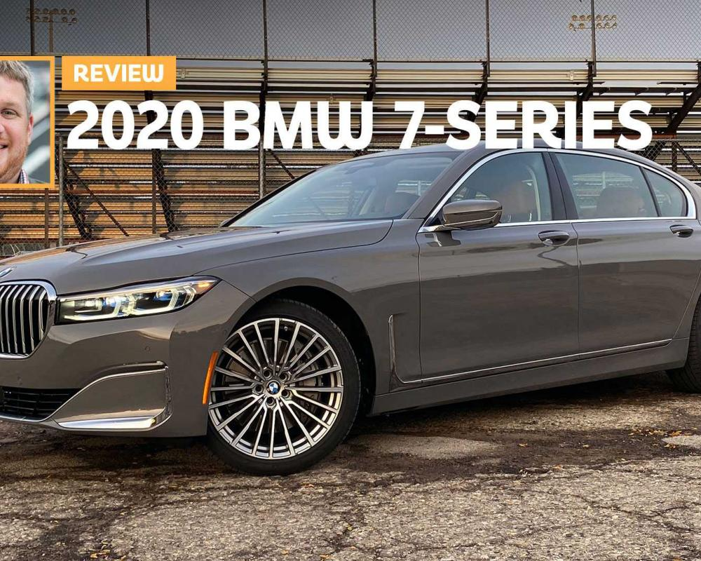 2020 BMW 750i Review: Rolling Rhinoplasty