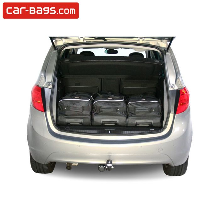 Travel bags tailor made for Opel Meriva B (6 pcs) | Time and space ...