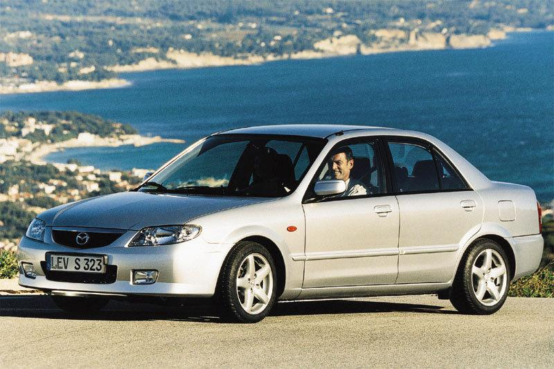 Mazda 323 Sedan 2001 pictures (5 of 6) | cars-data.com