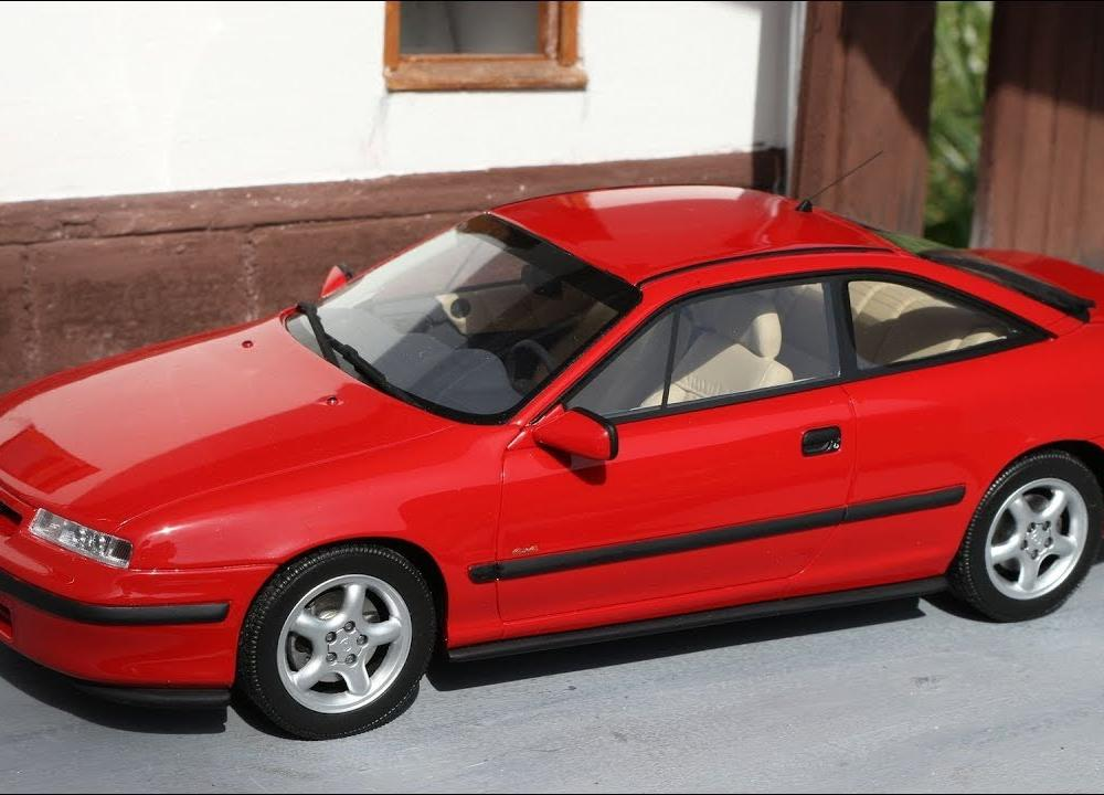 1:18 Opel Calibra Turbo 4x4, red - Otto-mobile [Unboxing] - YouTube