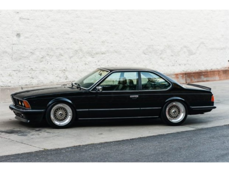 A Slammed Euro BMW 635CSi For The Ages - Car Fan Blog euro BMW 635 CSi