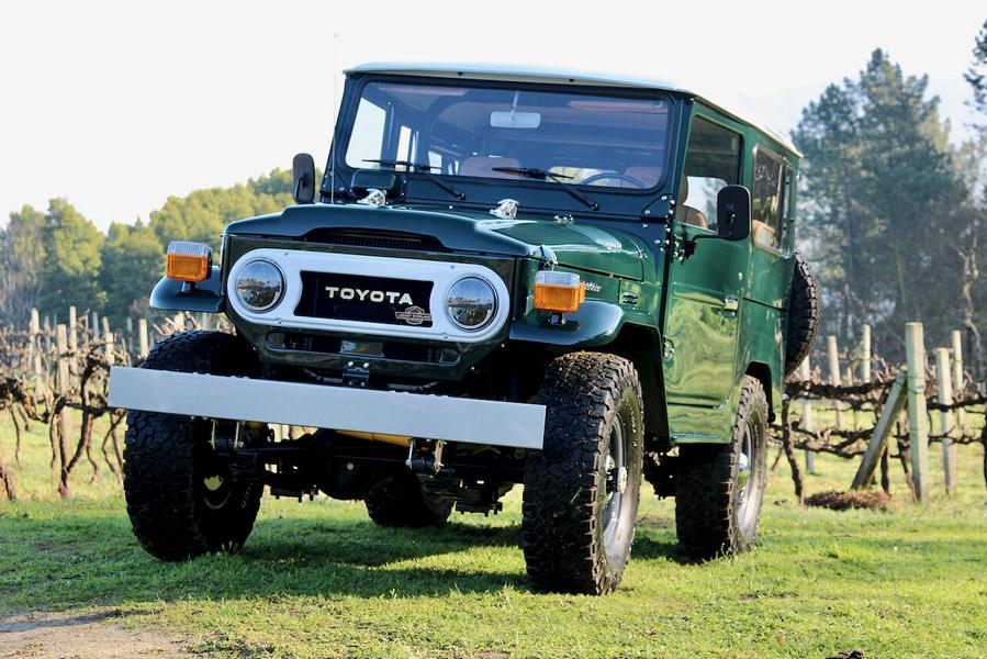 Toyota Land Cruiser FJ40 Restomod from Legacy Overland
