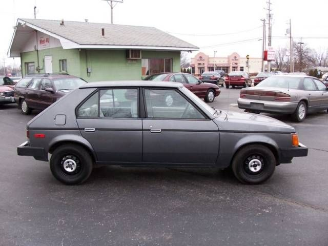1987 Dodge Omni. My first car, except mine was white. Loved my ...