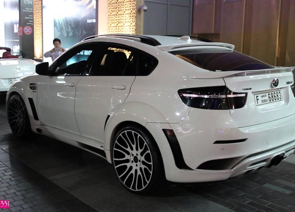 Hamann BMW X6M - looking sweet in white - YouTube