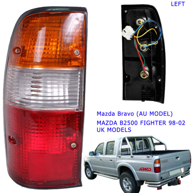 B2500 03 Rear Light Mazda tail lamp pickup Nearside LH 2003 2004 ...