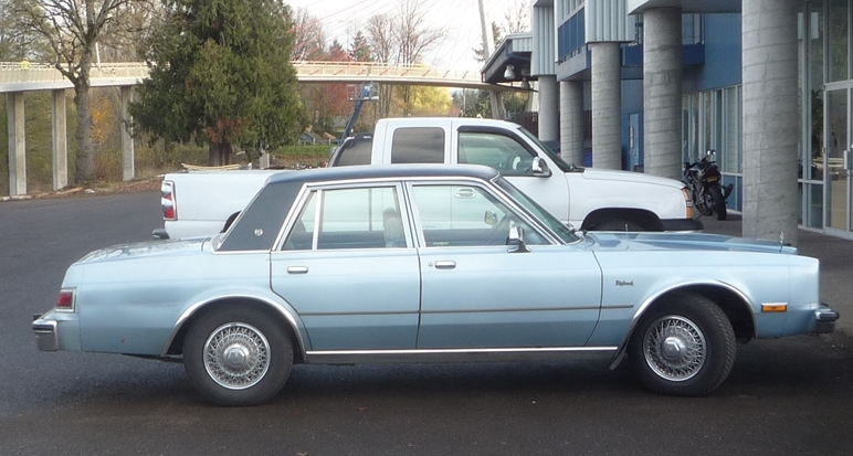 Curbside Classic: 1988 Dodge Diplomat SE: Absolution Granted ...