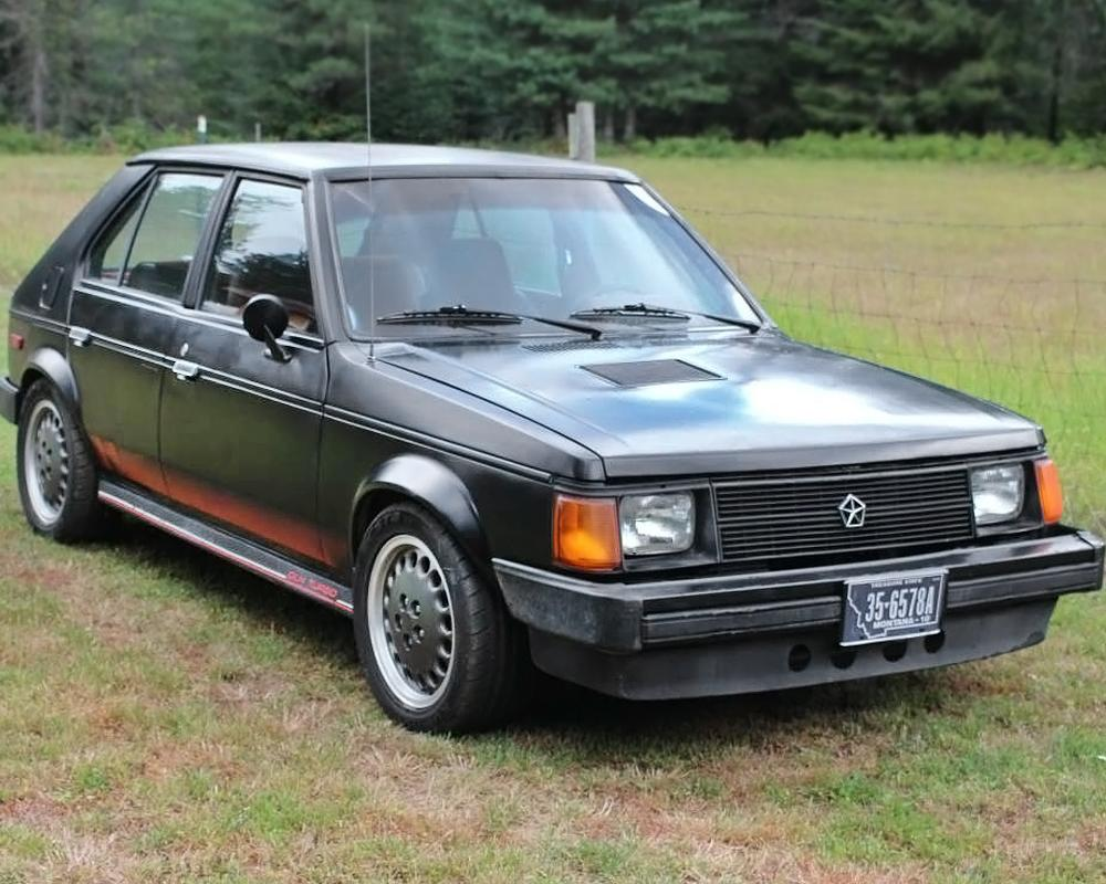 $2,800 Hellion! 1986 Dodge Omni GLH Turbo