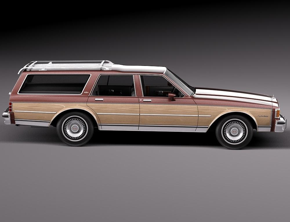 Chevrolet Caprice Estate Wagon 1980-1985