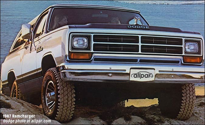 Dodge Ramcharger trucks: 1974-1993
