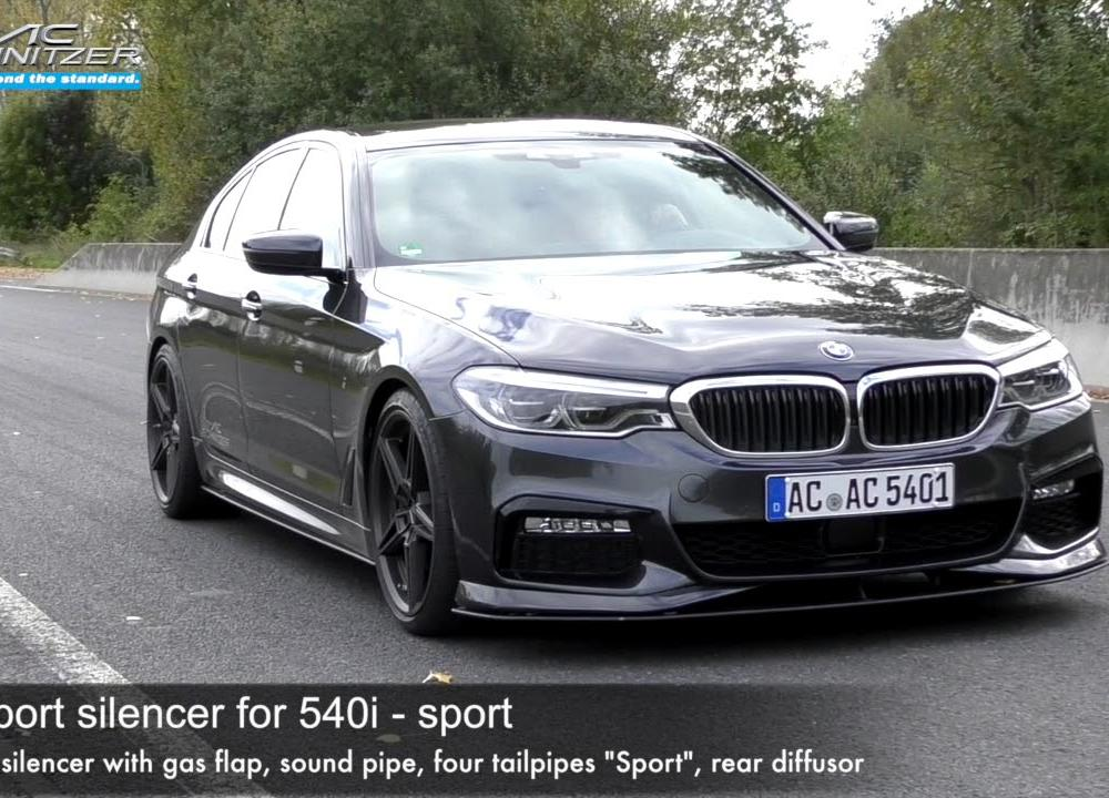 540i by AC Schnitzer (Export Sound) - YouTube