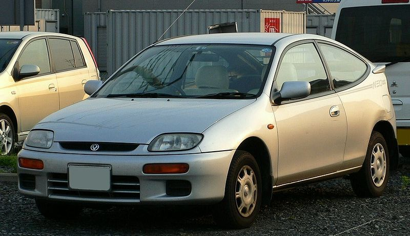 Mazda Familia Neo Coupe – 1994 (With images) | Mazda familia ...