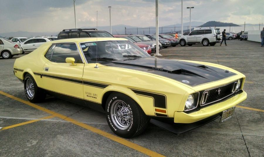 FORD Ford Mustang GT-351 - 1973 Este Ford Mustang GT-351 hard-top ...