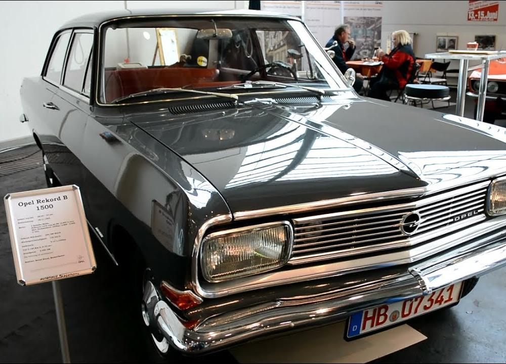 Opel Rekord B 1500 - YouTube