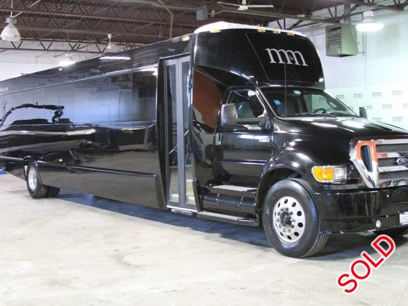 Used 2014 Ford F-750 Mini Bus Shuttle / Tour Tiffany Coachworks ...