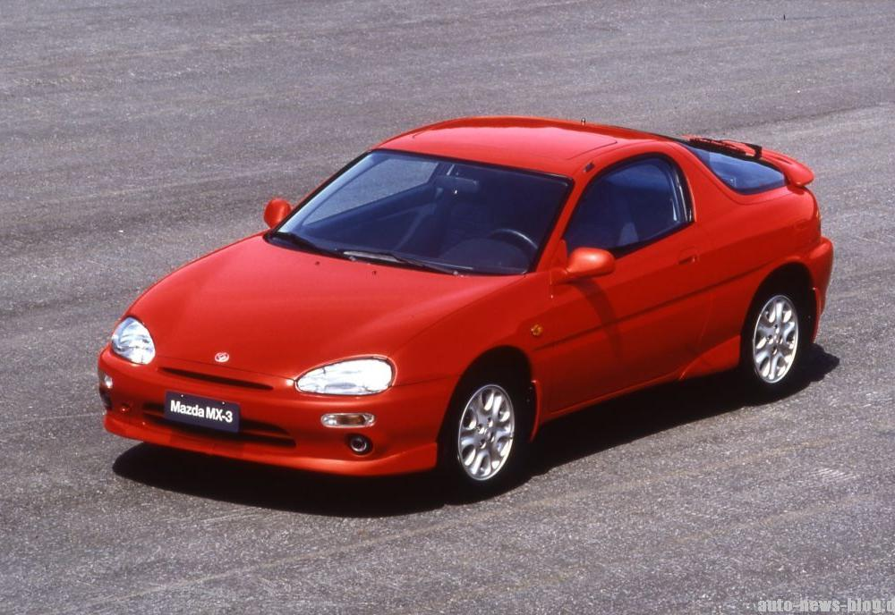 Mazda MX-3 V6 - The smallest V6 engine ever produced, 1.6 L(画像 ...