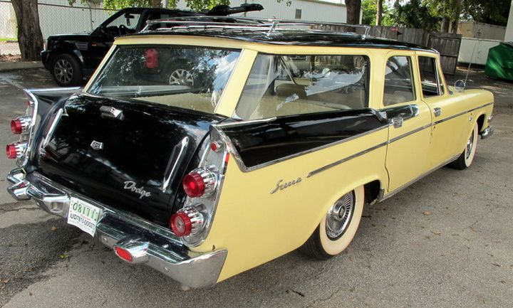 Thanksgiving Weekend – A 1958 Dodge Sierra Swept Wing Station ...