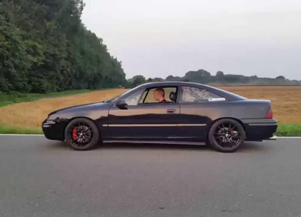 Calibra 4x4 Turbo C20LET WKT B520 Launch Control 659PS - YouTube