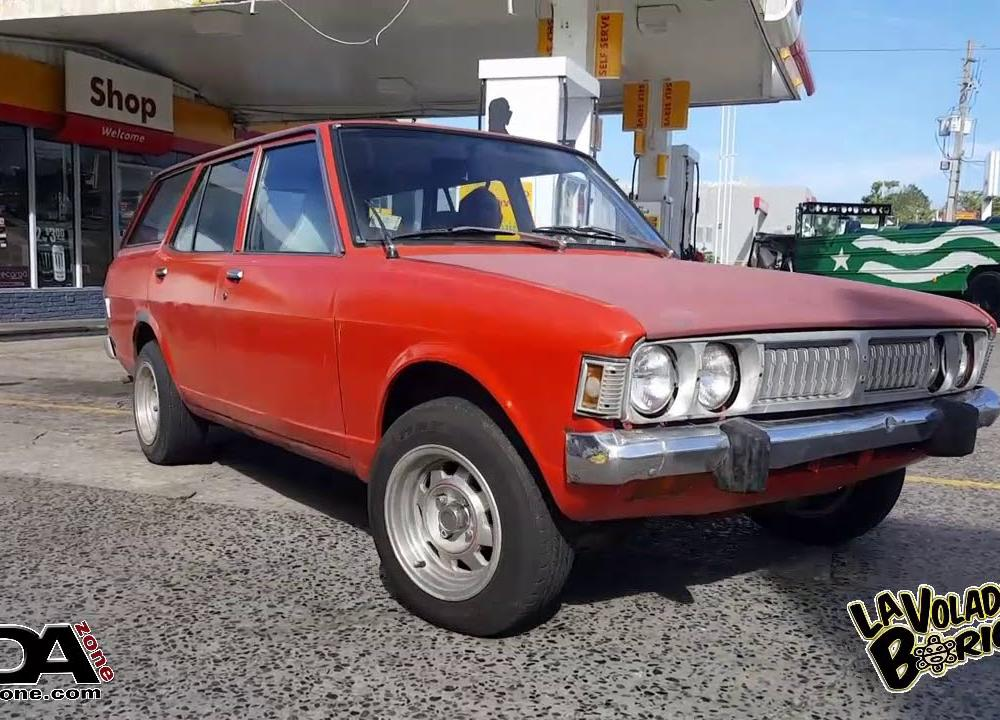 Rare Dodge Colt Station Wagon 1973 - YouTube