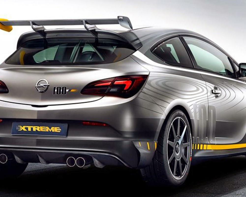 Opel Astra OPC Extreme (With images) | Vauxhall astra