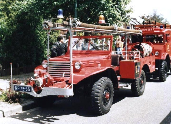 Awesome Dodge Power Wagon Fire Truck