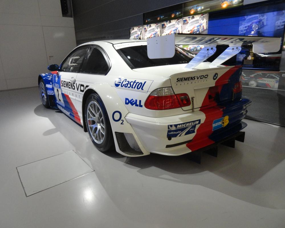 File:BMW M3 GTR in BMW-Museum - rear view.jpg - Wikimedia Commons