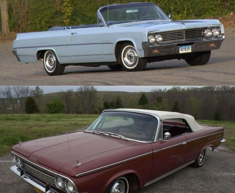 This or That: 1963 Olds Dynamic 88 versus 1964 Dodge 880 Custom ...
