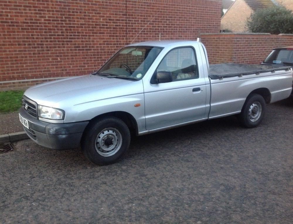 Mazda b2500 (With images)