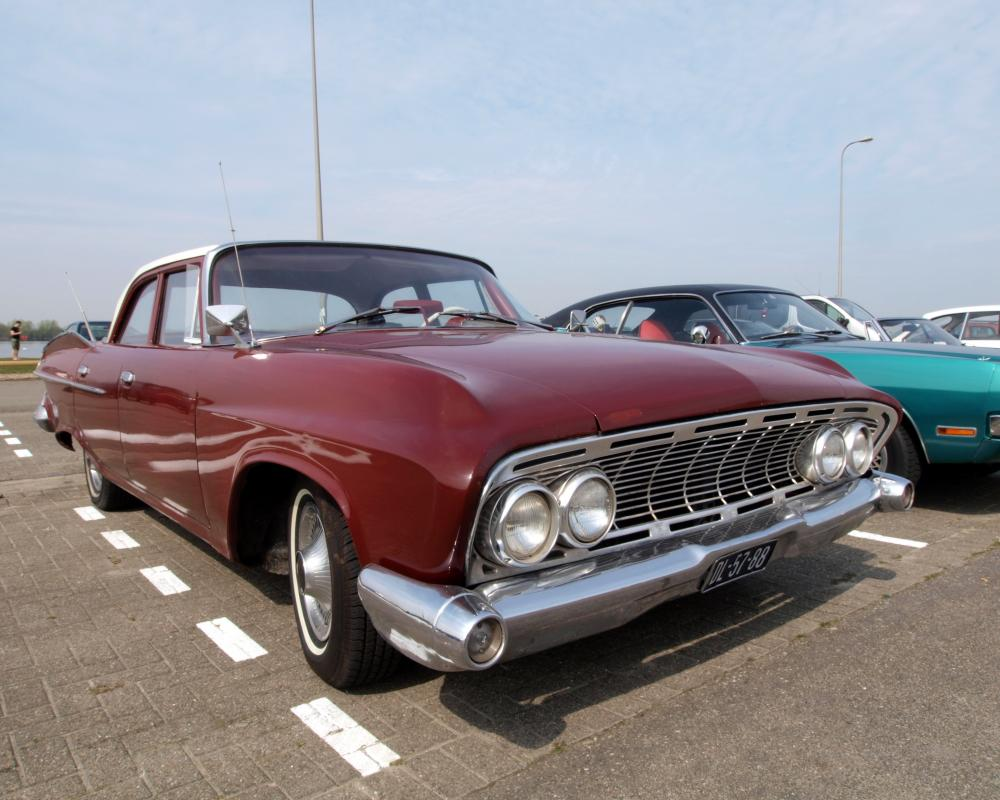 Datei:Dodge Seneca (1961) , Dutch licence registration DL-57-88 ...