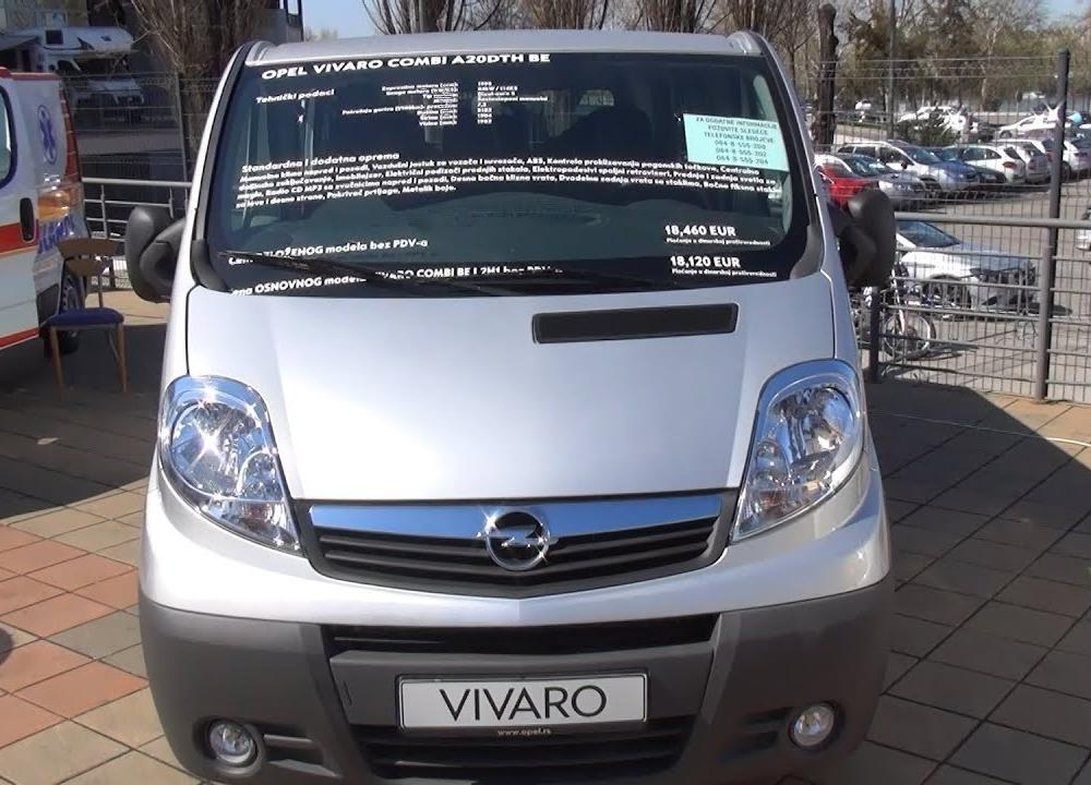 Opel Vivaro 2900 2.0 CDTI Combi A20DTH BE Exterior and Interior in ...