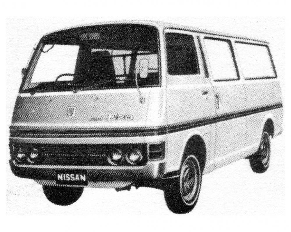 Nissan e20 Photo and Video Review. Comments.
