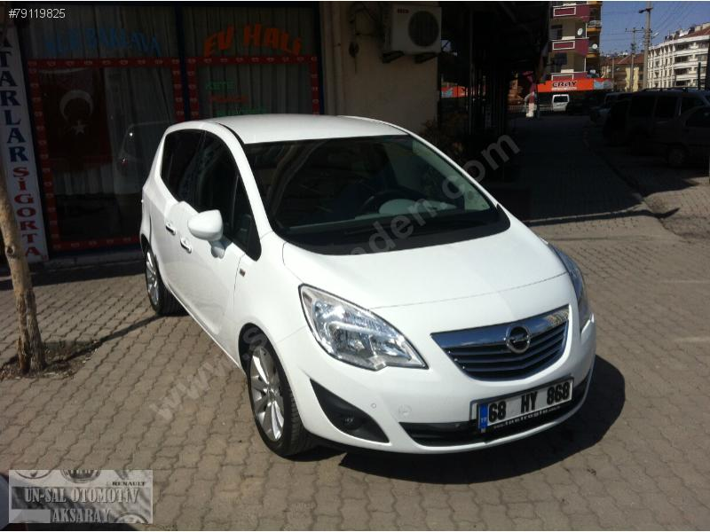 View of Opel Meriva 1.7 CDTI. Photos, video, features and tuning ...