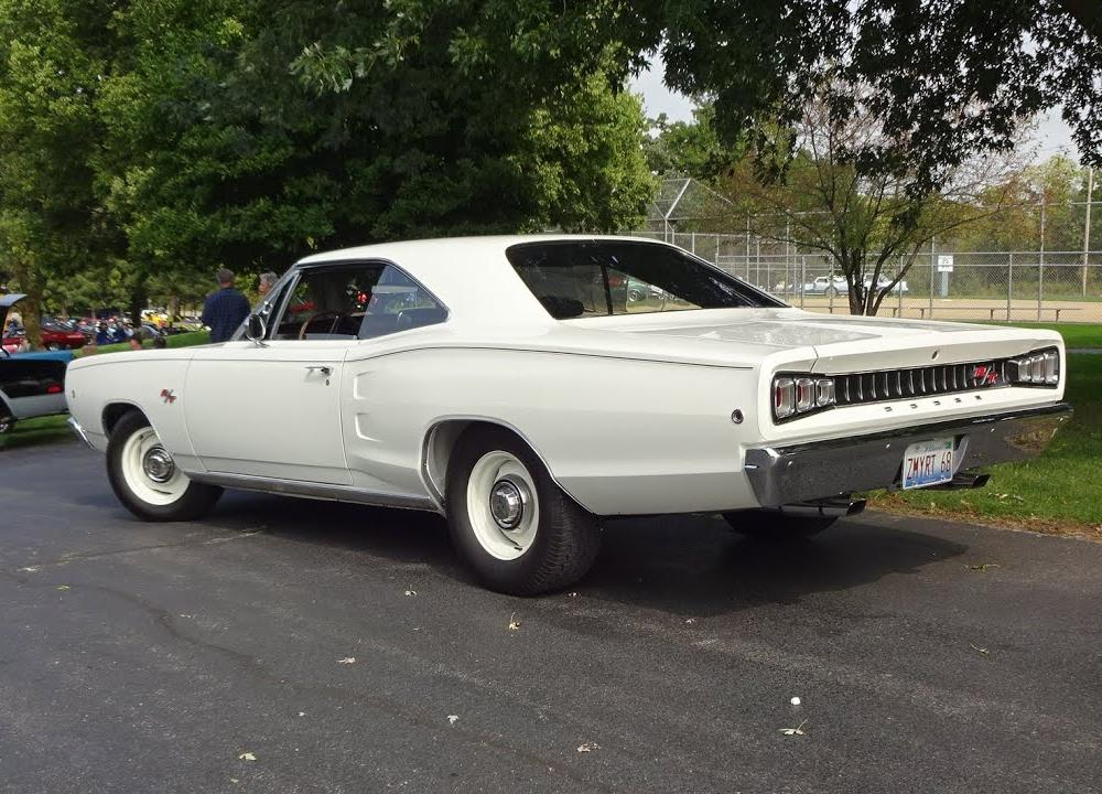 1968 Dodge Coronet R/T RT in White Paint & 440 Engine Sound on My ...